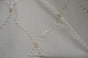 Льняной тюль с вышивкой арт. R430, R431, R432