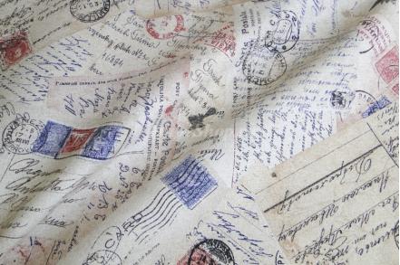 Ткань арт. Stamps