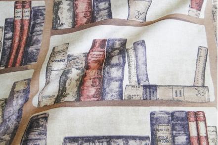 Ткань арт. Books