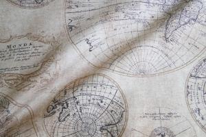 Ткань арт. Mapa Mundi
