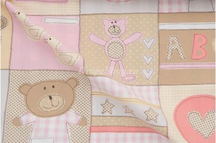 Ткань Teddy 03, 08