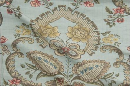 Ткань Avignone azzurro