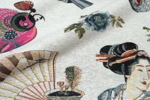 Ткань Big Kioto