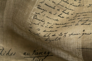 Ткань Manuscrit voile