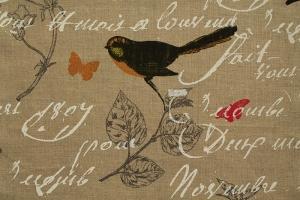 Ткань Oiseaux