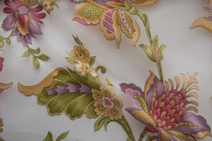 Ткань органза с цветами арт. Corfu col. 19