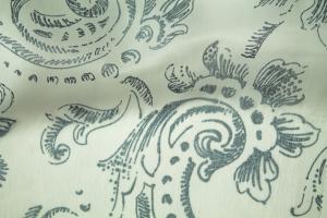 Тюль сине-белый Kiara 5
