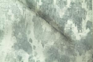 Тюль с черно-белым рисунком Kiara 20