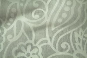 Тюль с черно-белым рисунком Kiara 26