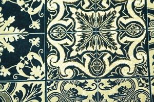 Ткань HL-Azulejos col. 001 Blue
