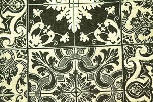 Ткань HL-Azulejos col. 002 Black
