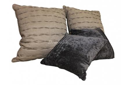 Комплект подушек с волной и полосами