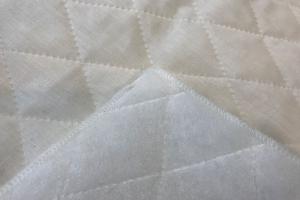 Подкладочная ткань для покрывал Термостежка Milk