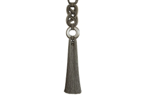 Кисть для штор с кольцом и плетеным шнуром