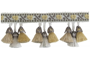 Бахрома для штор с тремя колокольчиками Catalonia