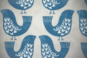 Ткань Scandi Birds col.Capri