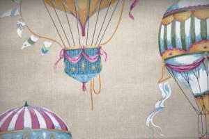 Ткань Balloons col. Cobalt