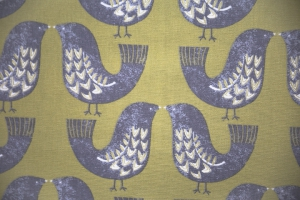 Ткань Scandi Birds col.Kiwi