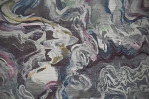 Ткань Watercolor col.Glacier