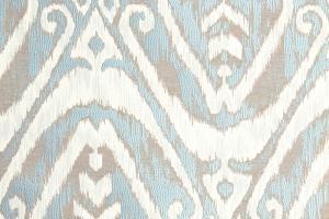 Ткань с бирюзовым этническим рисунком Aquamarine col. 20