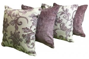 Комплект декоративных подушек Bristol (лиловый)
