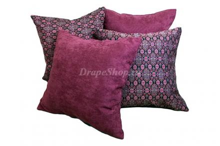 Комплект декоративных подушек в этническом стиле