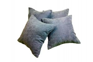 Лаконичный комплект декоративных подушек из бархата