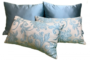 Комплект декоративных подушек Bristol (голубой)