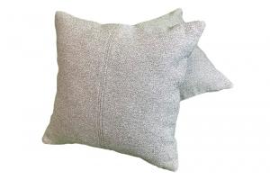 Комплект декоративных подушек из рогожки