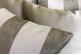 Комплект подушек Santa Fe с полосками и бронзовым отливом