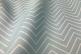 Голубая портьерная ткань с зигзагами