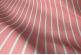 Розовая портьерная ткань с серой полоской