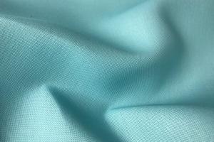 Однотонная голубая ткань Barbara