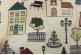 Ткань Houses col. Beige 30