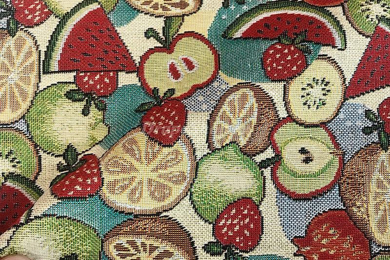 Ткань Fruits col. Beige 30