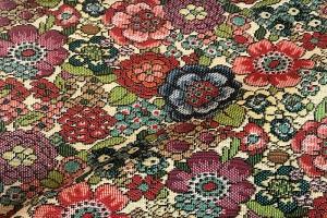 Ткань Flora col. Beige 30