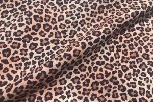 Ткань с орнаментом под леопарда