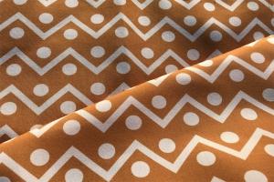 Ткань с геометрическим орнаментом