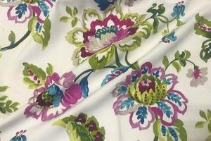 Ткань Indira A col.77 Fuxia