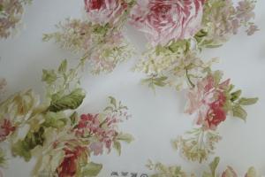Тюль органза с цветочным рисунком  Isabelle col. 02