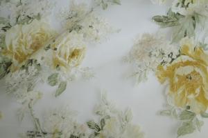 Тюль органза с цветочным рисунком  Isabelle col. 01