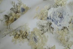 Тюль органза с цветочным рисунком  Isabelle col. 03