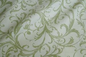 Ткань льняная с узором Rivoli col. 02