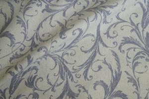 Ткань льняная с узором Rivoli col. 03