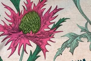 Ткань Acanthium Carmine