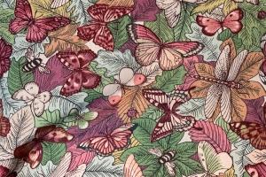 Ткань Botanist Coral