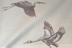 Ткань Cranes Pearl