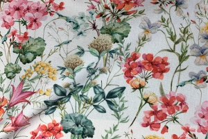Ткань Hibiscus 01-Spring