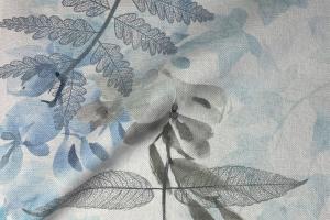 Ткань Plumeria 02-Azure