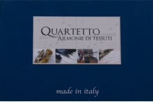 Каталог тканей для штор Quartetto